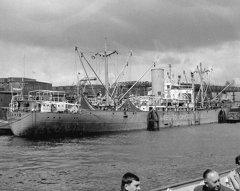 Foto van schip de Algenib